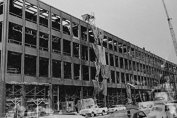 The Forgotten History Of Mies Van Der Rohe S Mlk Memorial