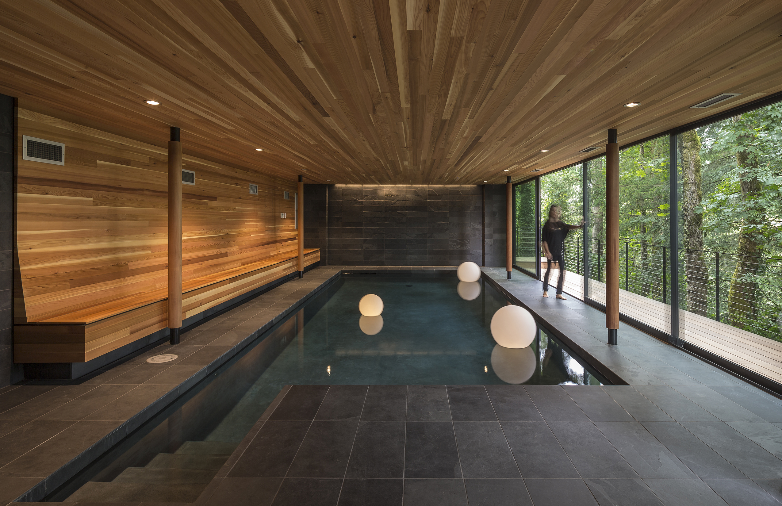 West Hills Residence Residential Architect Fieldwork Design Architecture Portland Or