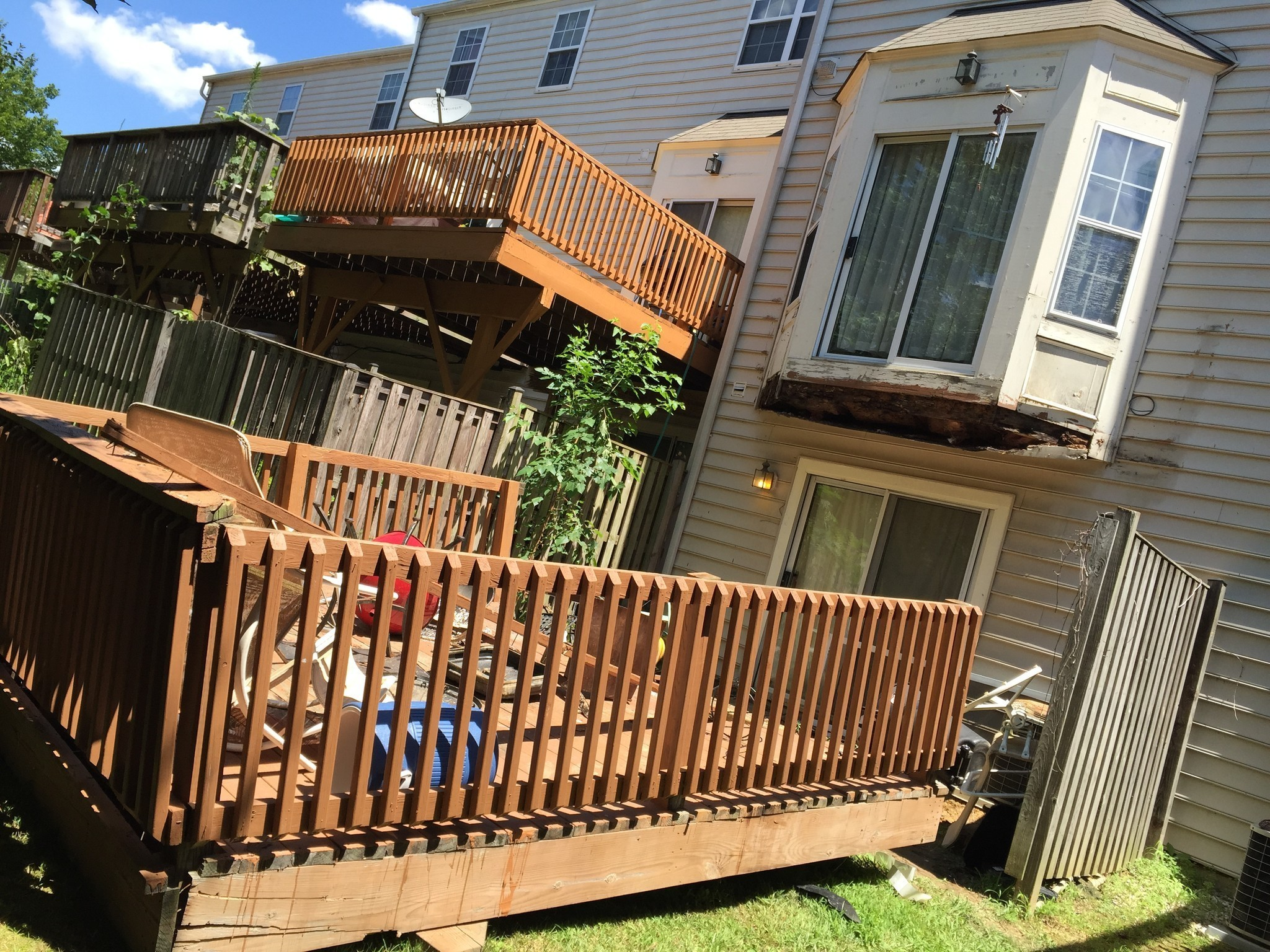 Rot Causes Deck Failure Professional Deck Builder