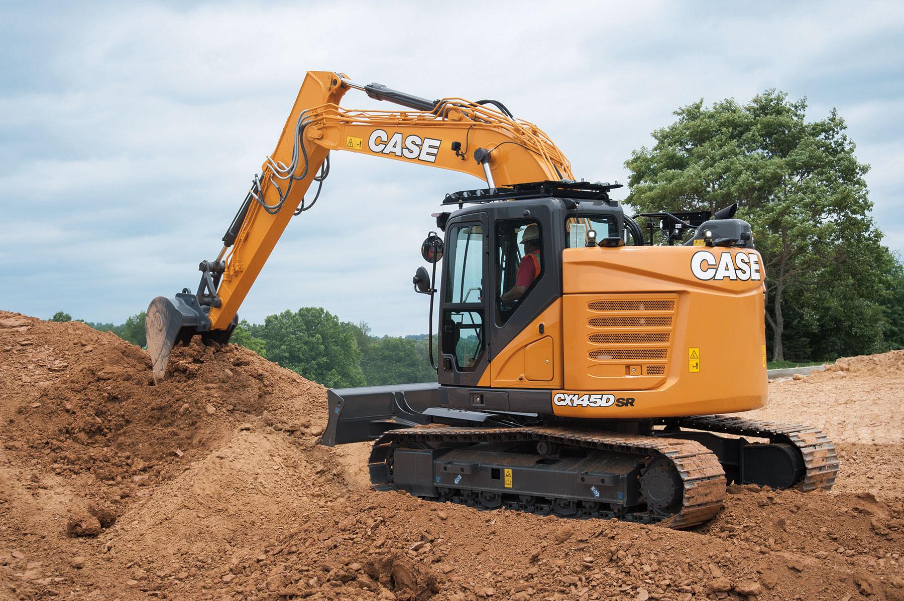 Case Minimum Swing Excavator Public Works Magazine
