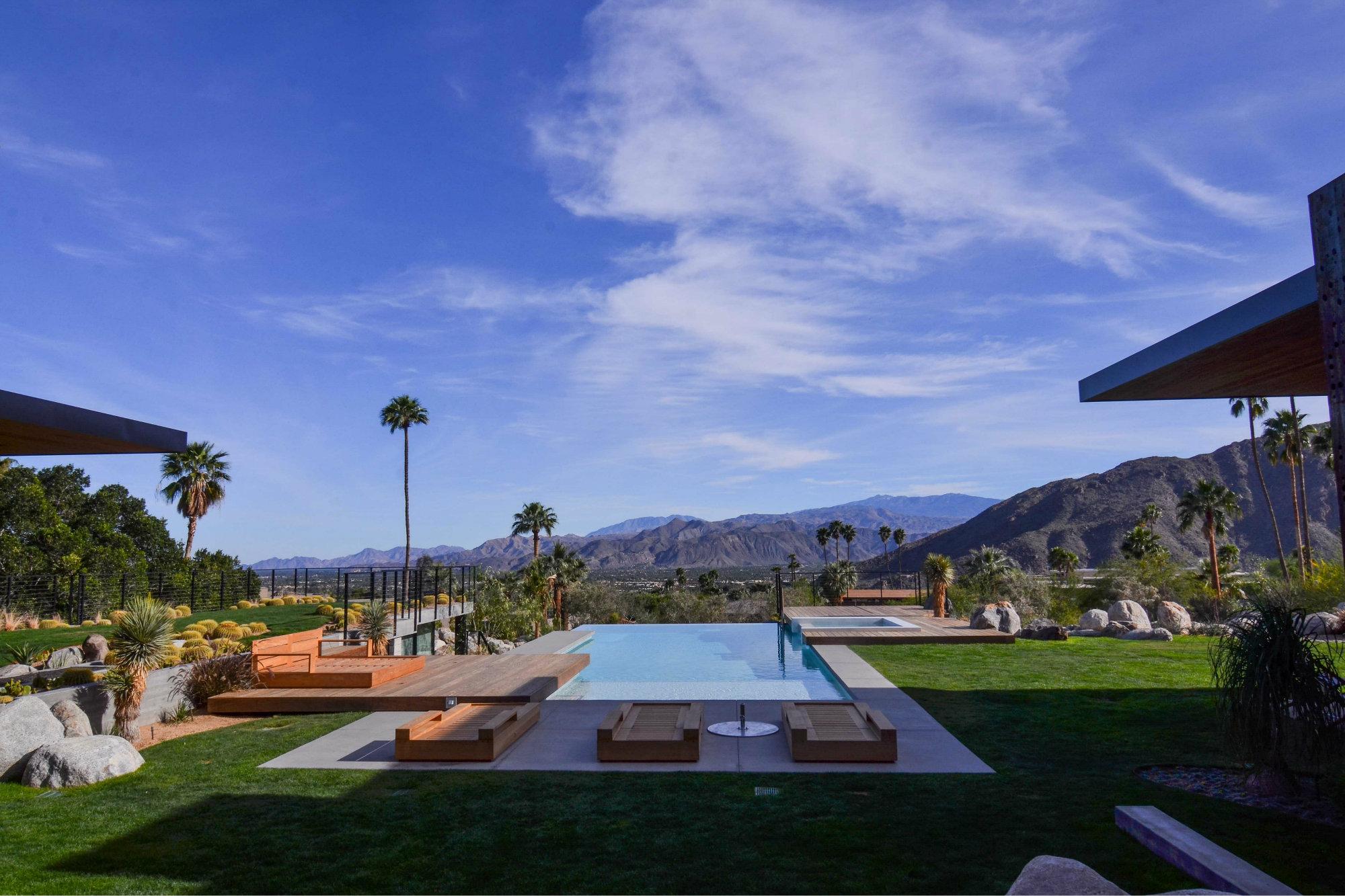 Modern outlook pool spa news design pools award for Pool design 2016