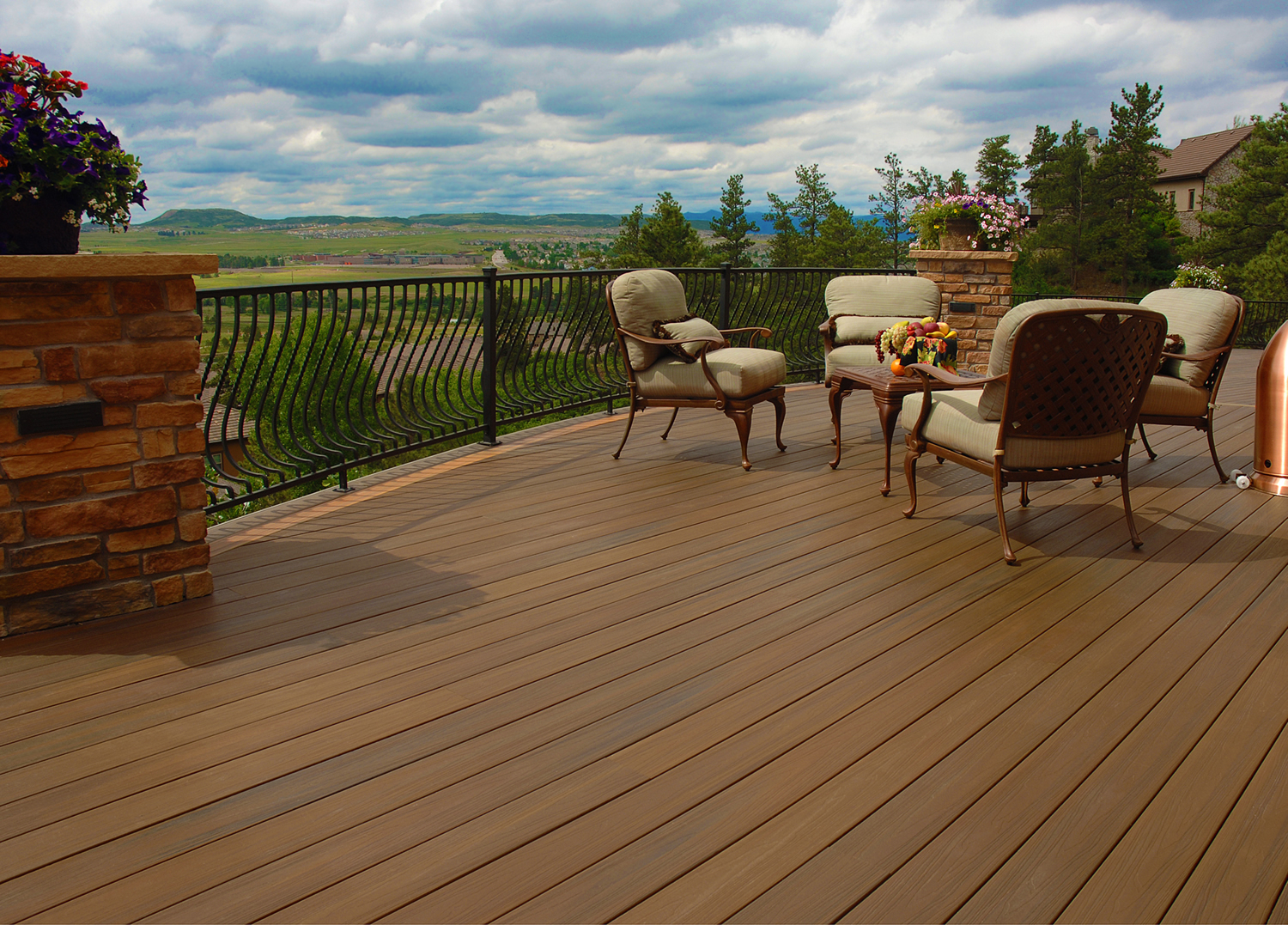 The spring 2016 deck report remodeling lumber decks for Redwood vs composite decking