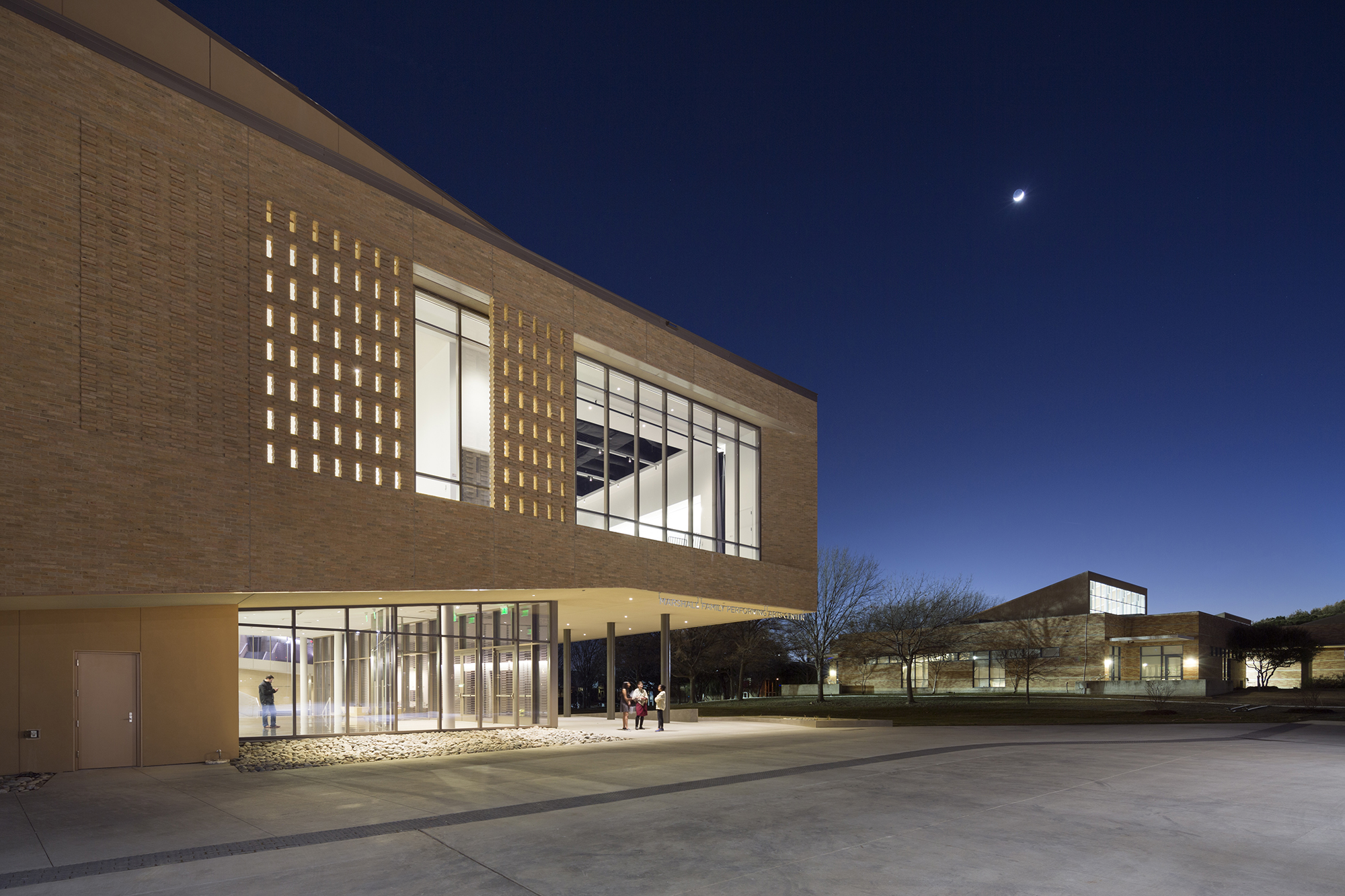 Marshall Family Performing Arts Center Architect