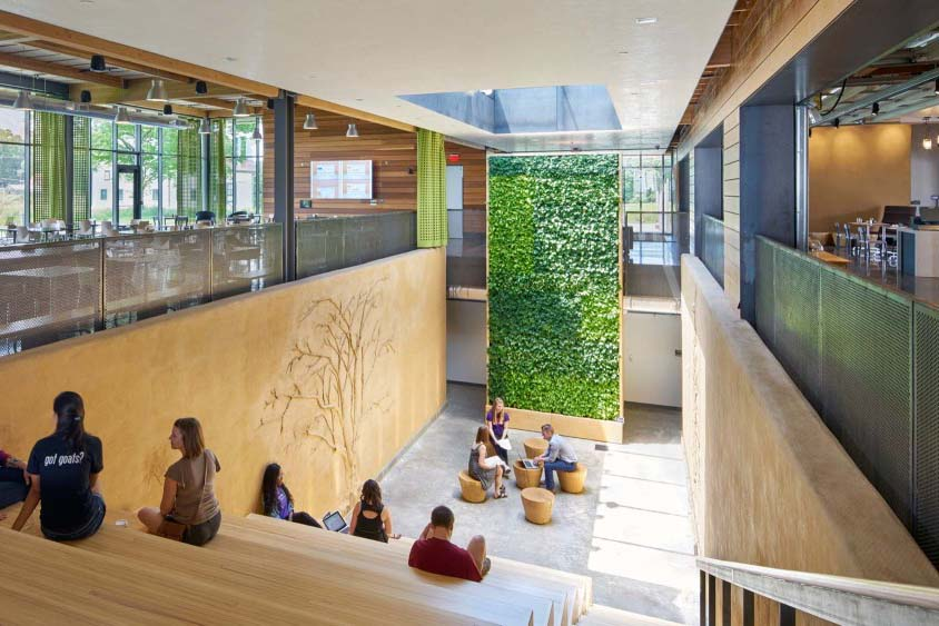 Architecture Design Ltd Chatham chatham university eden hall campus | architect magazine | mithun