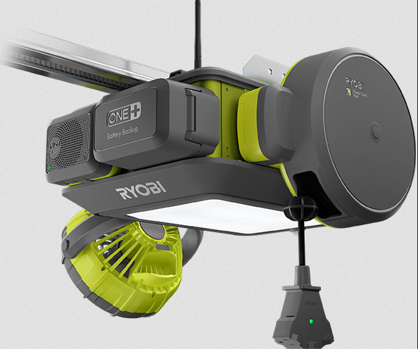 Trick Out Your Garage Door Opener With Ryobi's Newest One