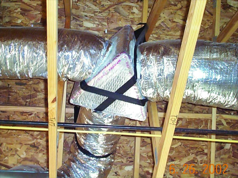 Flexible Ducts Provide A High Performance Low Cost Solution Builder Magazine Hvac Metal