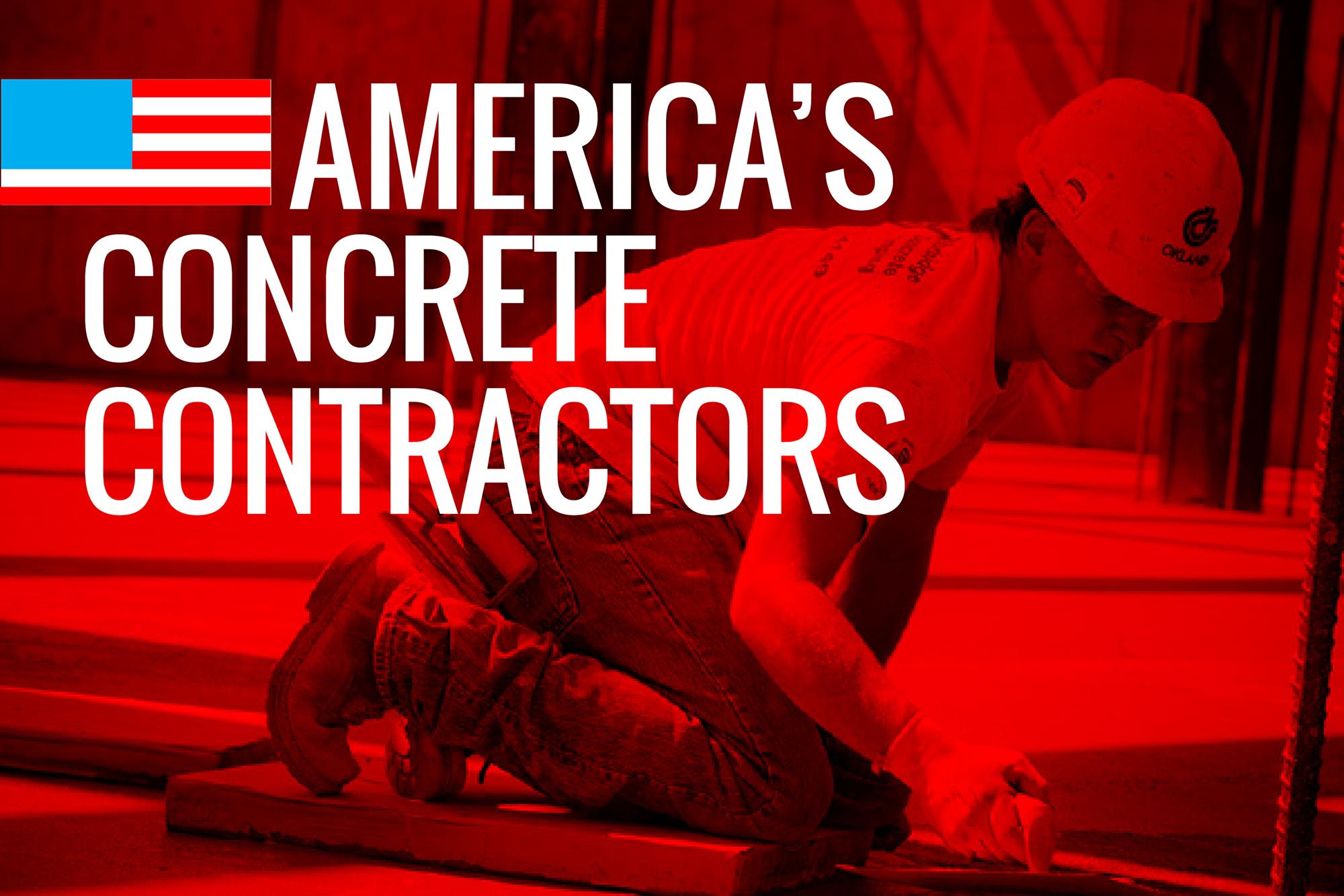 America 39 s concrete contractors for 2016 concrete for America s best contractors