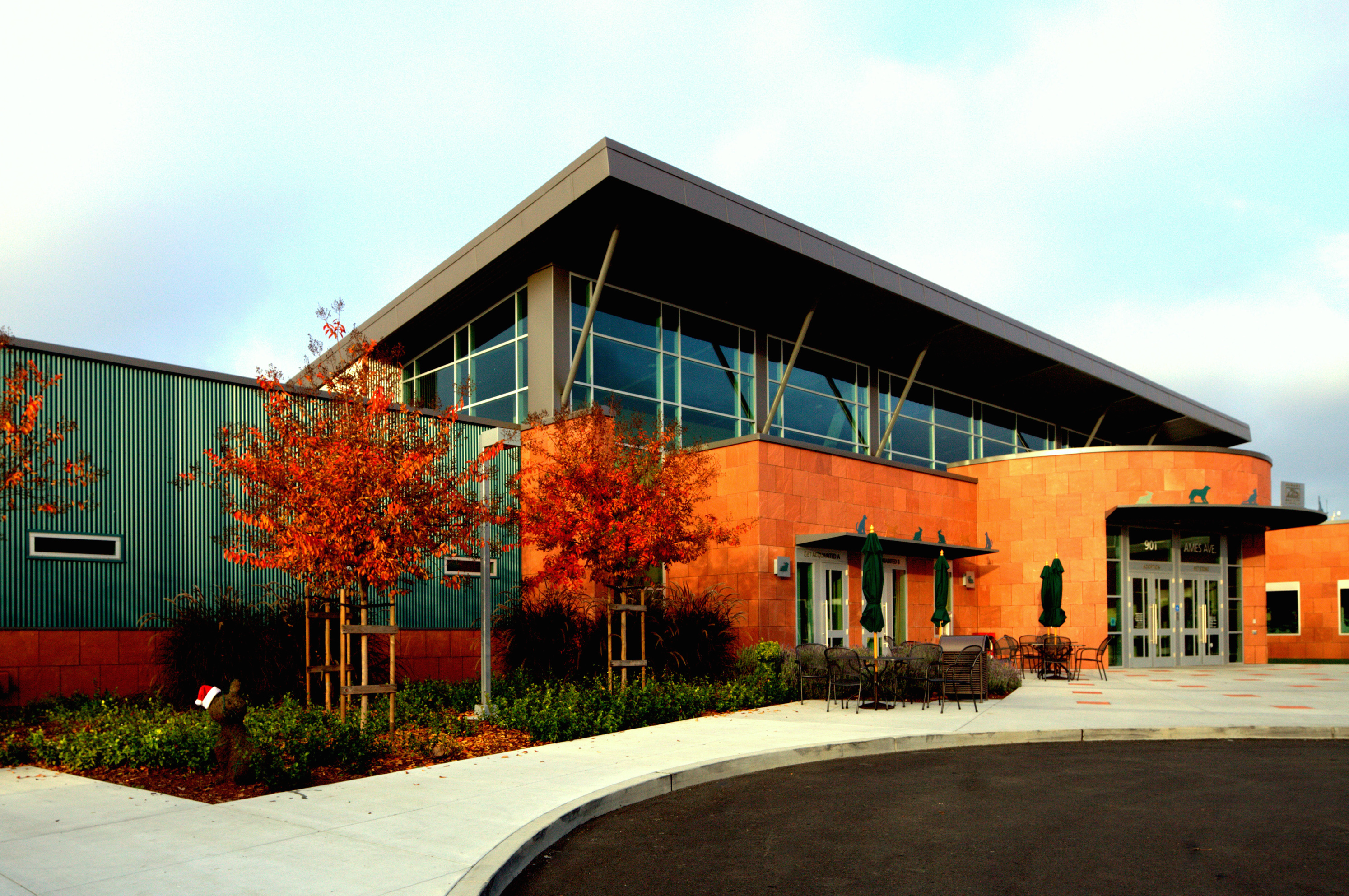 A Leed Gold Facility For Humane Society Silicon Valley Architect Magazine Milpitas Ca Usa
