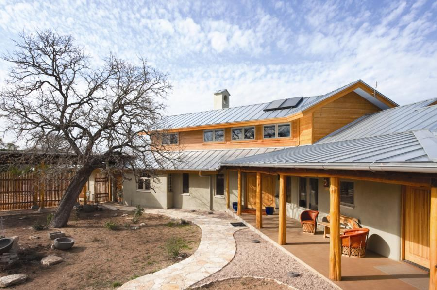 Low Impact Living In Texas Hill Country EcoBuilding Pulse Magazine LEED S