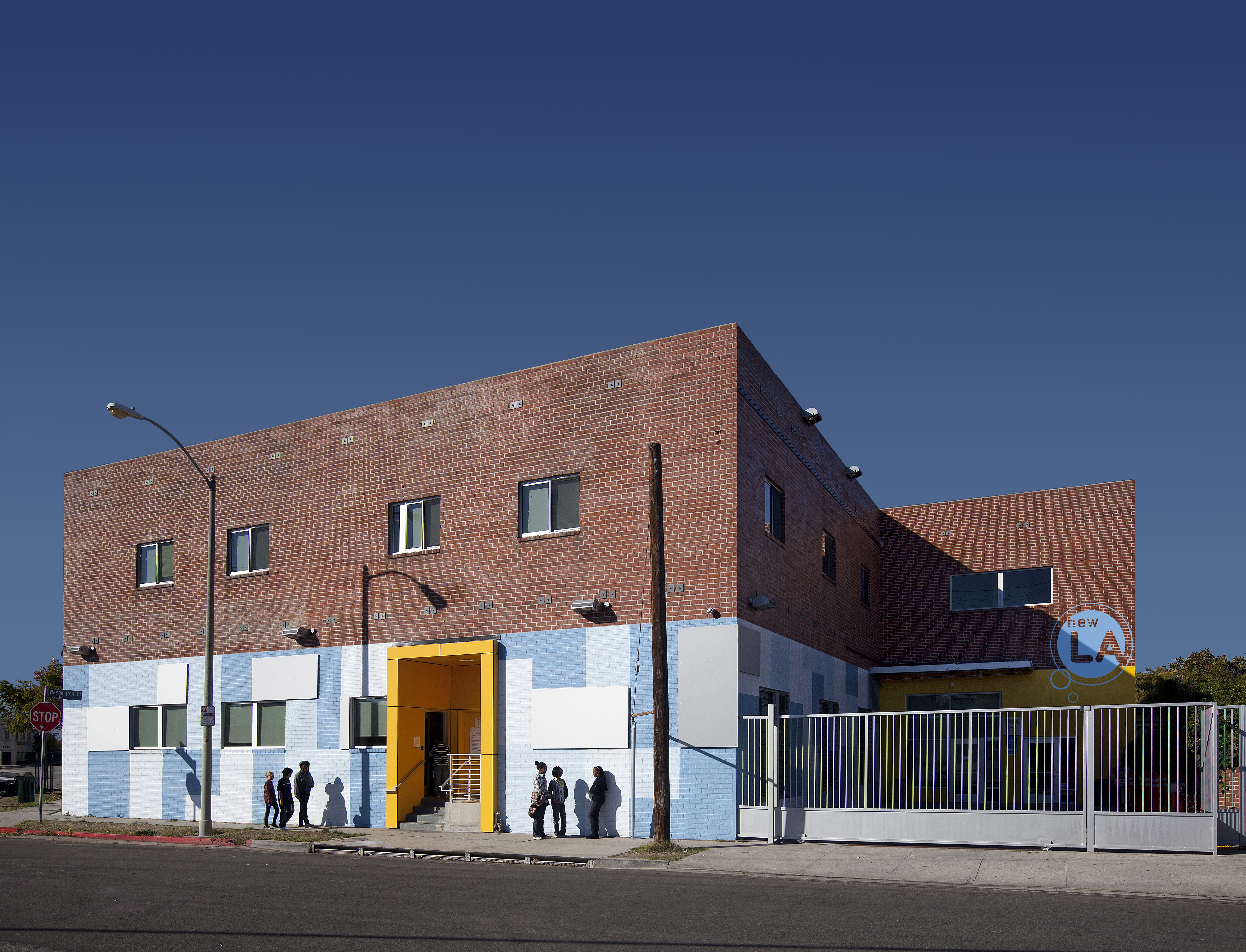 New los angeles charter school architect magazine for Design consultancy los angeles