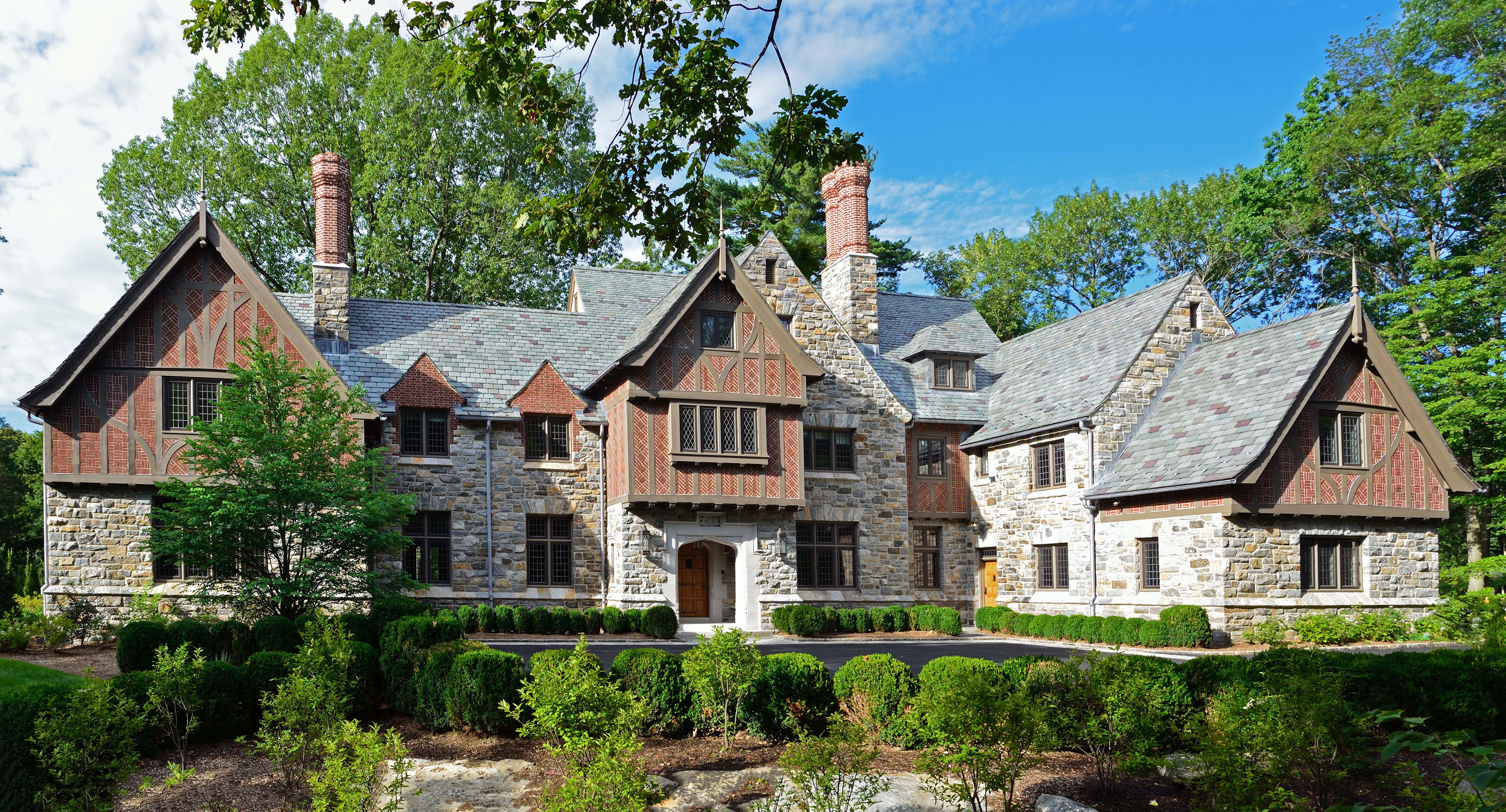 New English Tudor Residence Architect Magazine Douglas Vanderhorn Architects Greenwich Ct