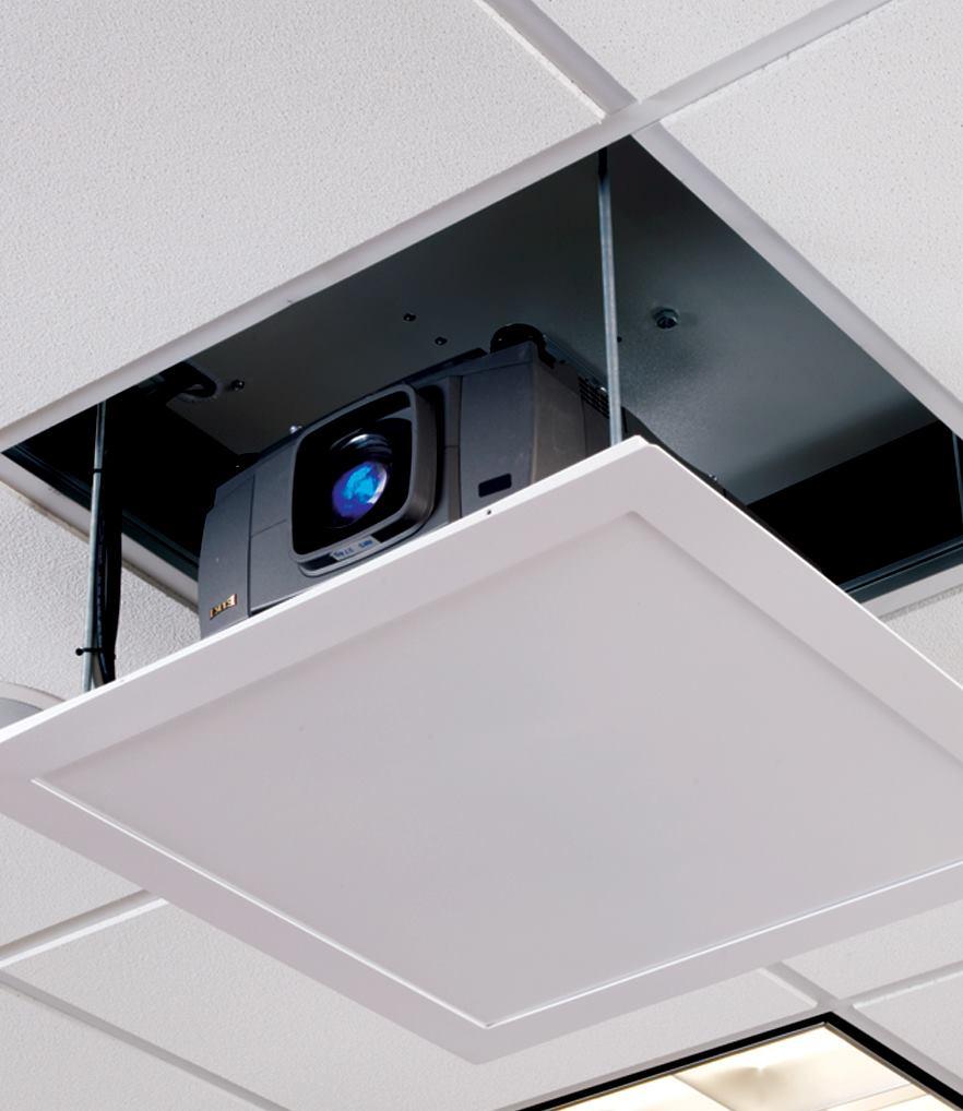 Micro projector lift from draper architect magazine for Micro projector screen
