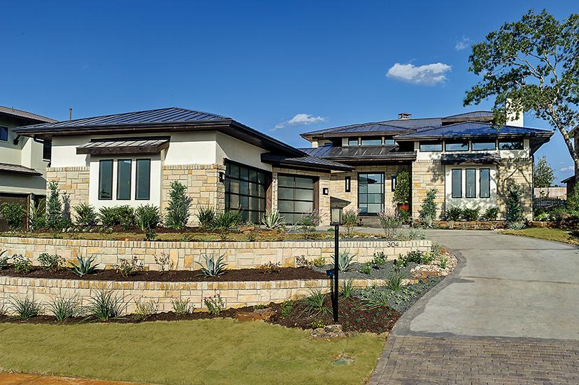 Fourplans spotlight on prairie style builder magazine for Builder magazine house plans