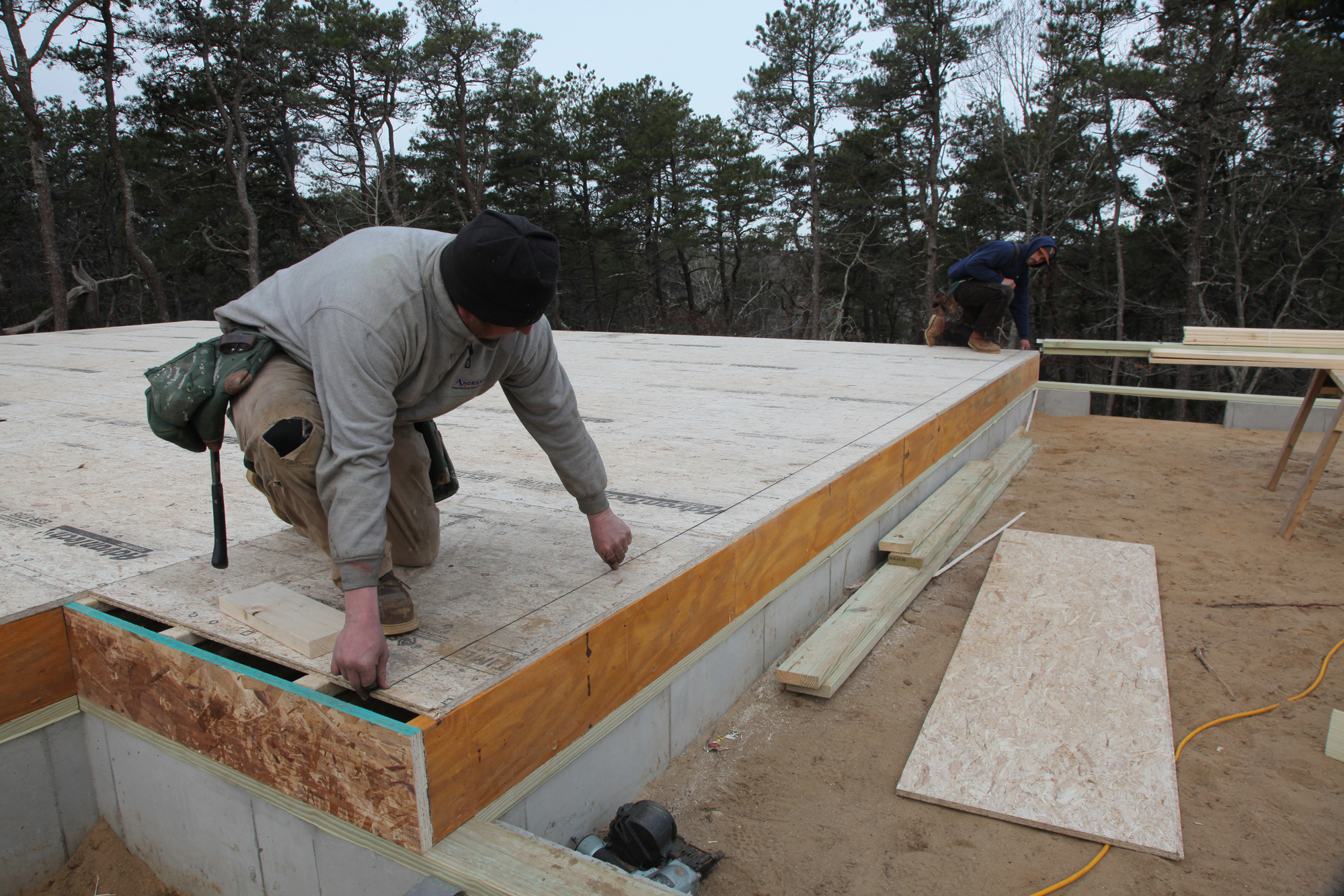 Layout Lines For Exterior Walls Jlc Online Framing