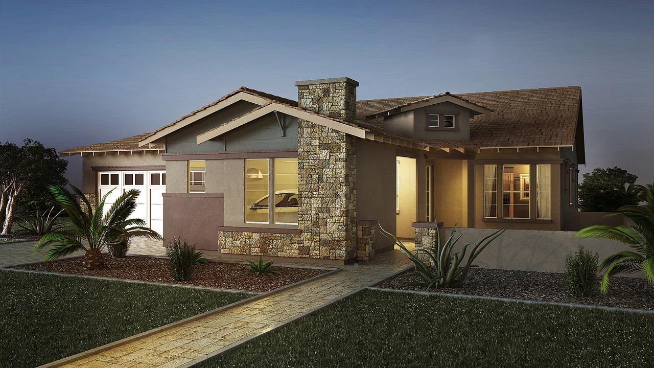 A Single Story Focus For Shea Homes Arizona Builder