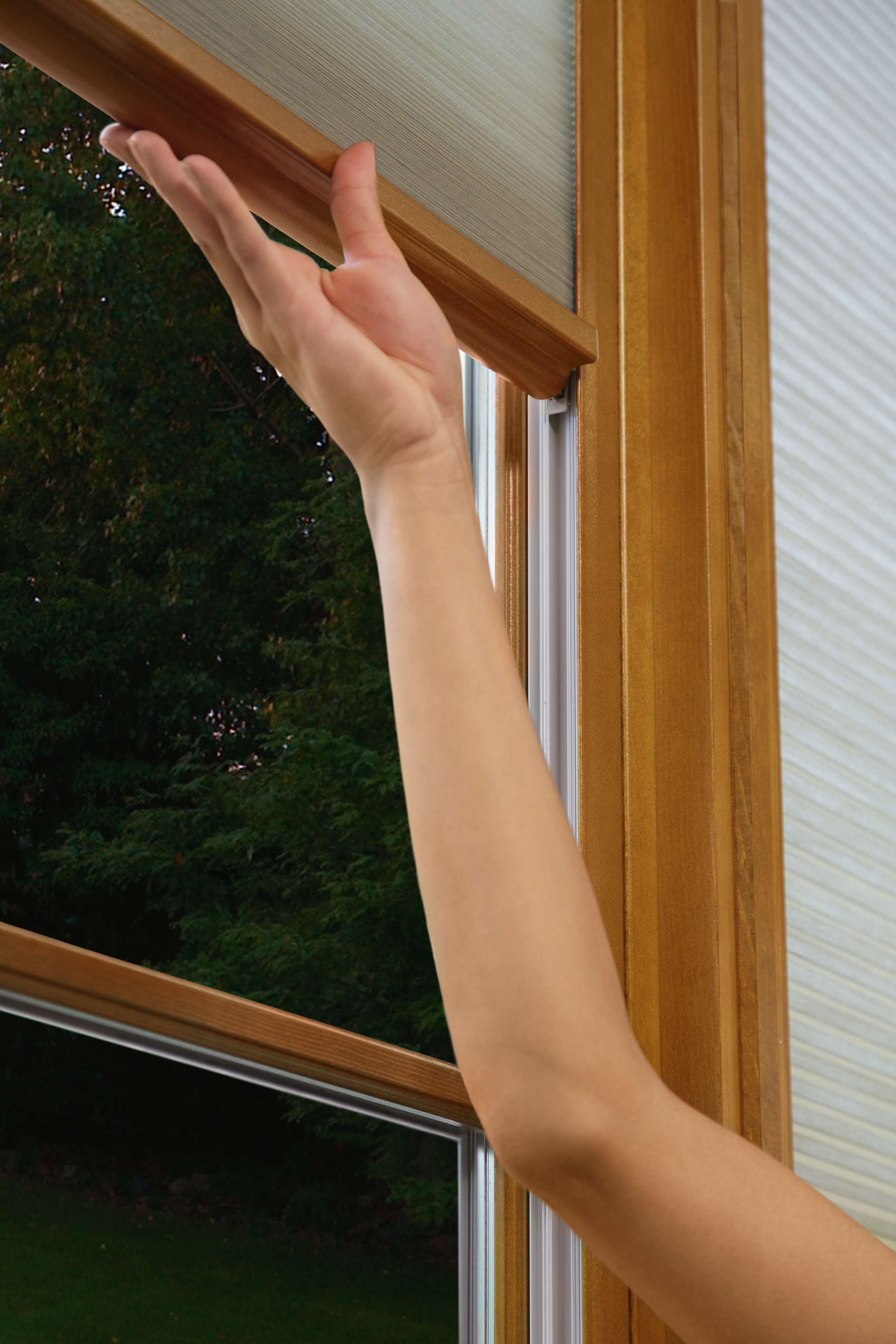 Marvin 39 s interior shade system has it made remodeling for Marvin window shades cost