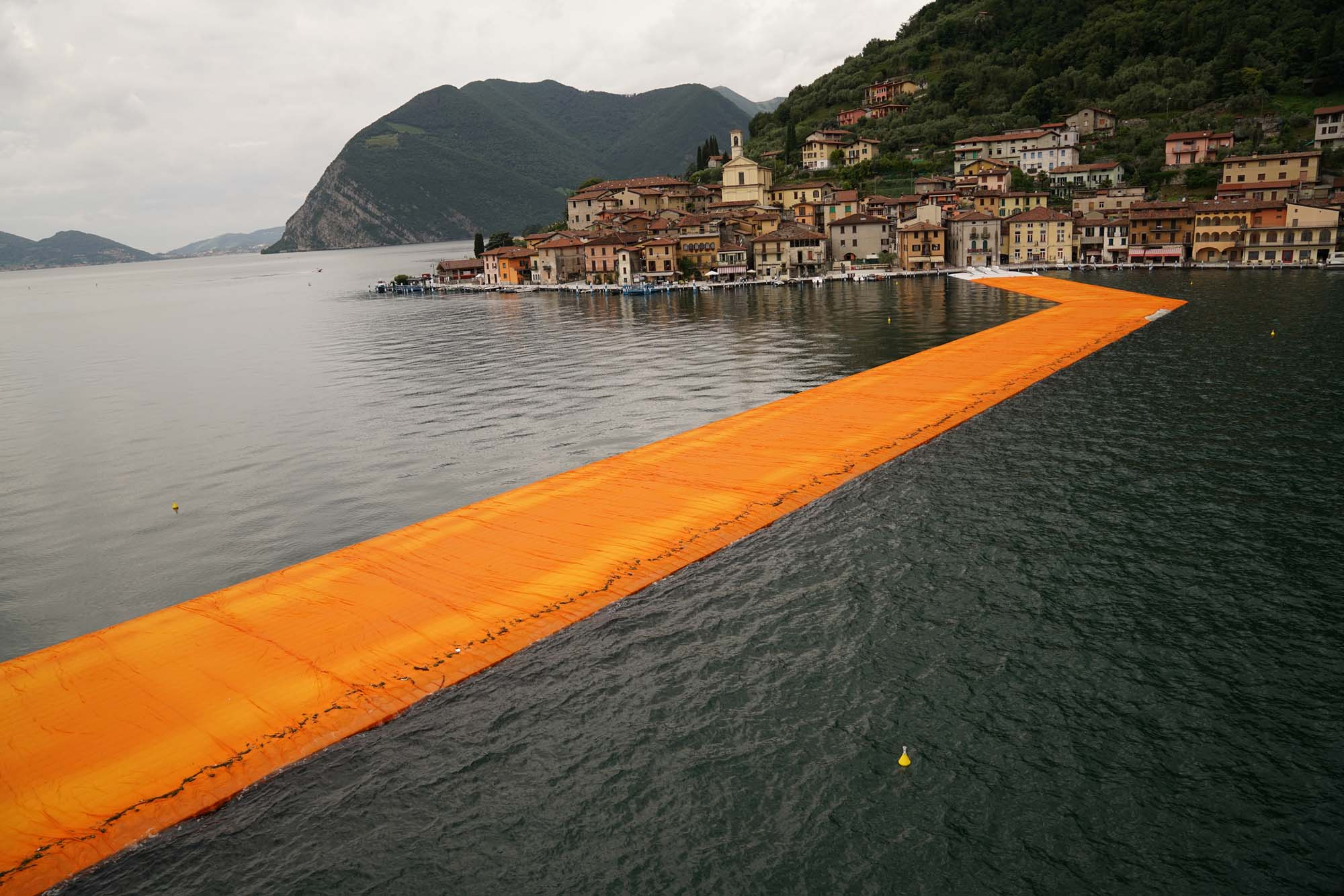Floating Piers By Christo And Jeanne Claude Readies For