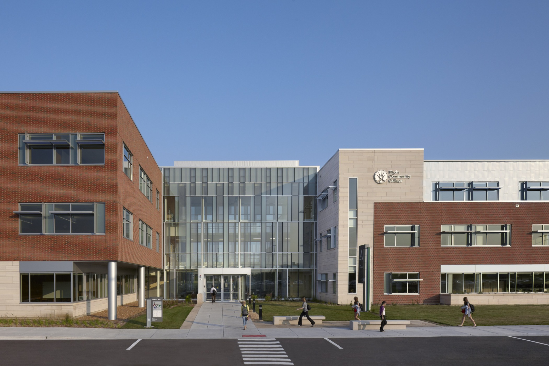 Elgin Community College Health And Life Sciences Building