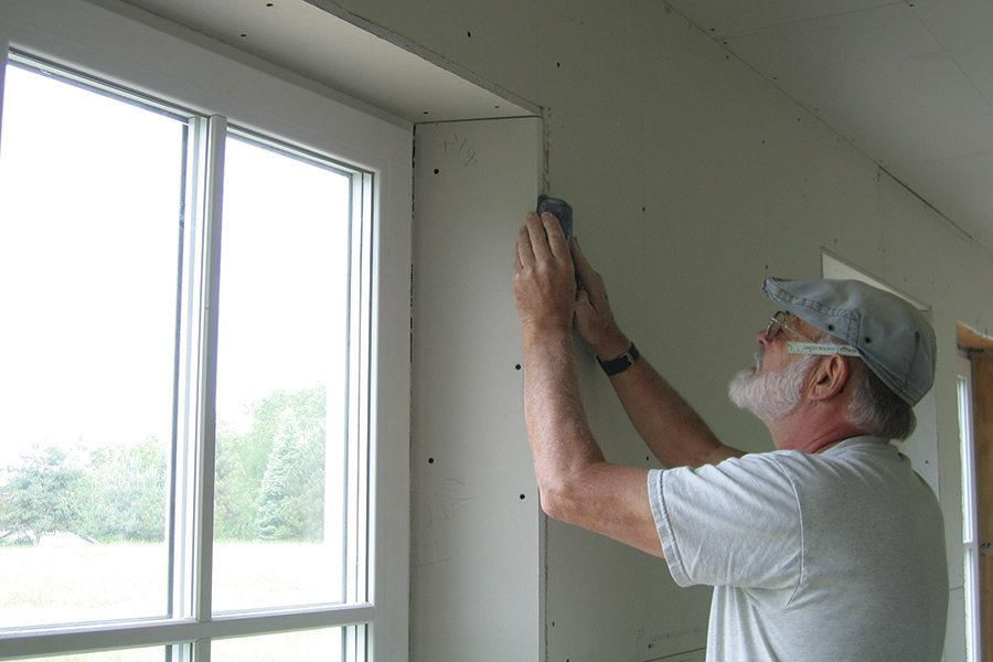Trimming Windows In A Deep Wall Jlc Online Windows