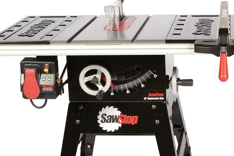 Sawstop Contractor Table Saw Jlc Online Saws Safety Jobsite Equipment Benches And Tool