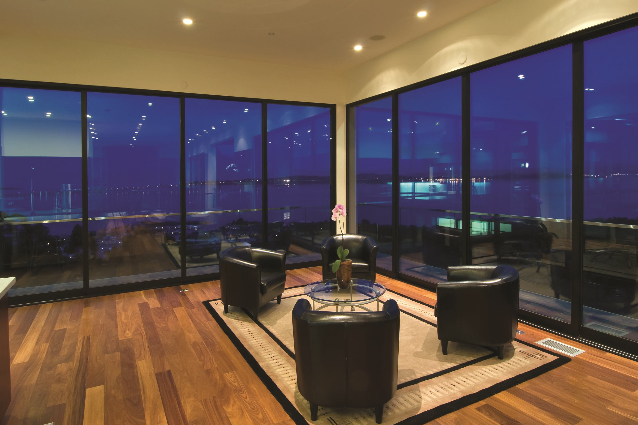 Moving glass wall by milgard builder magazine windows for Moving glass wall