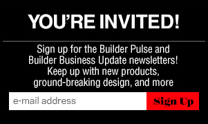 BUILDER newsletter signup