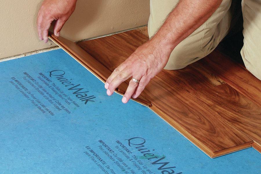 Quietwalk Floor Underlayment Jlc Online Underlayments
