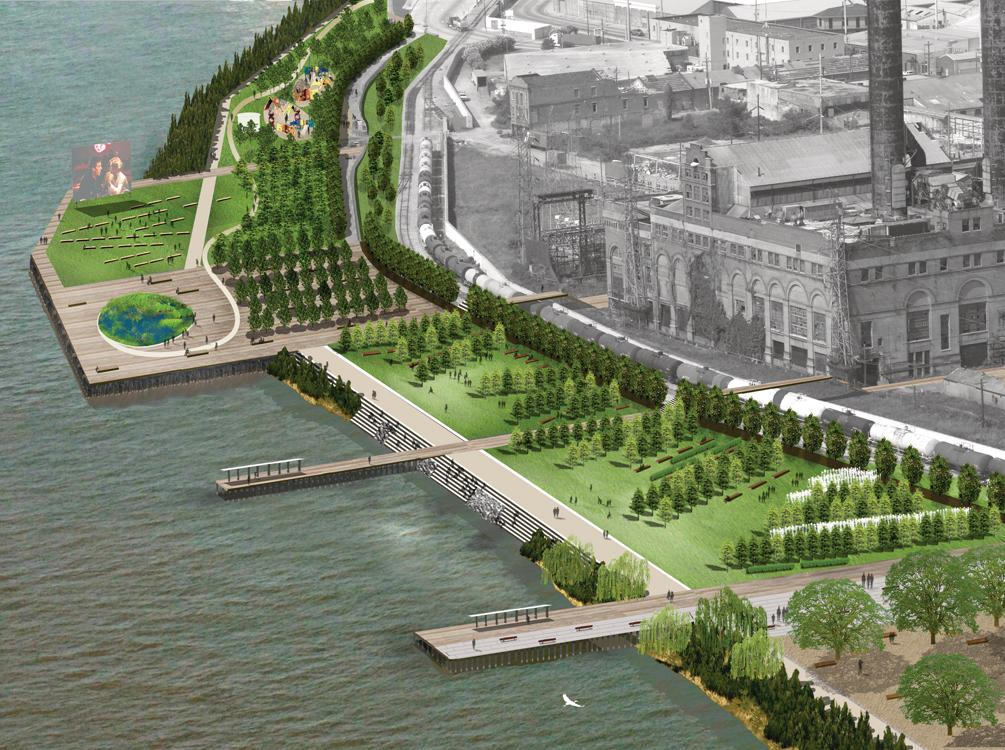 Reinventing The Crescent Riverfront Development Plan