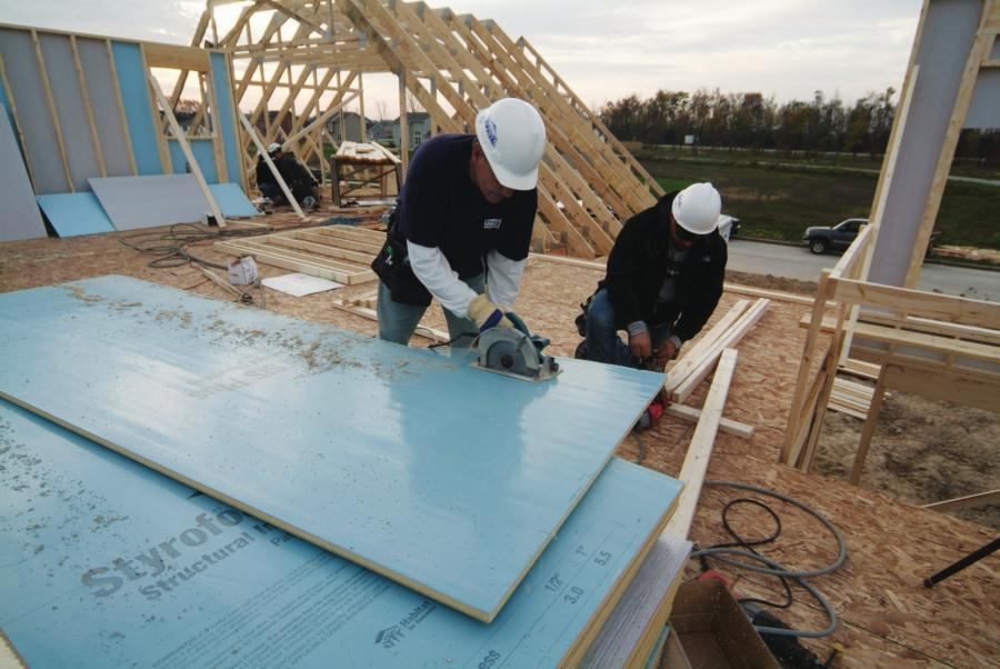 Insulated Structural Sheathing By Dow Ecobuilding Pulse Magazine Green Products Building