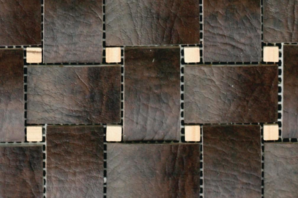 Ecodomo M E Collection Leather Tiles Architect Magazine