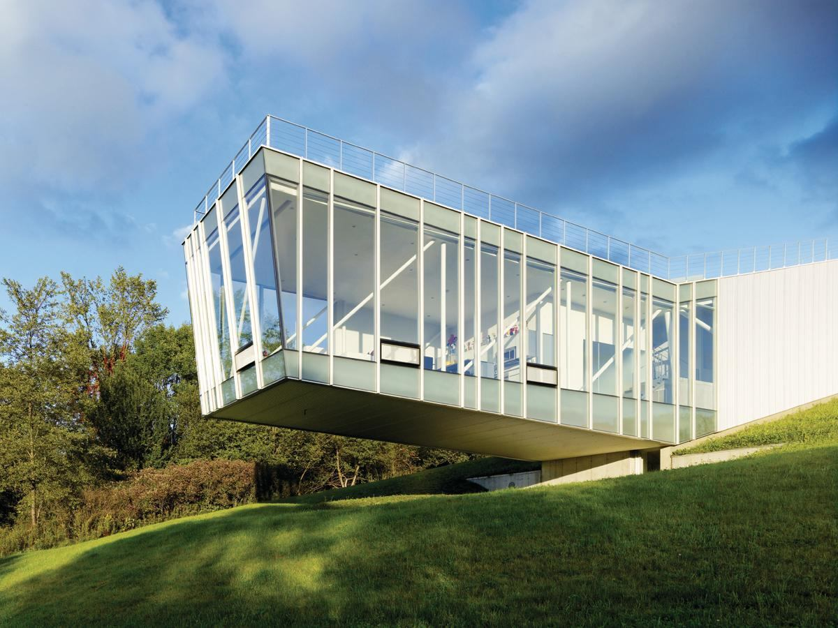curtain walls residential architect