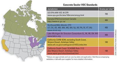 Meeting Voc Regs Concrete Construction Magazine Low Voc