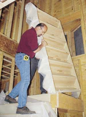 Installing Manufactured Stairs Jlc Online Framing Staircases Basement Modular Building