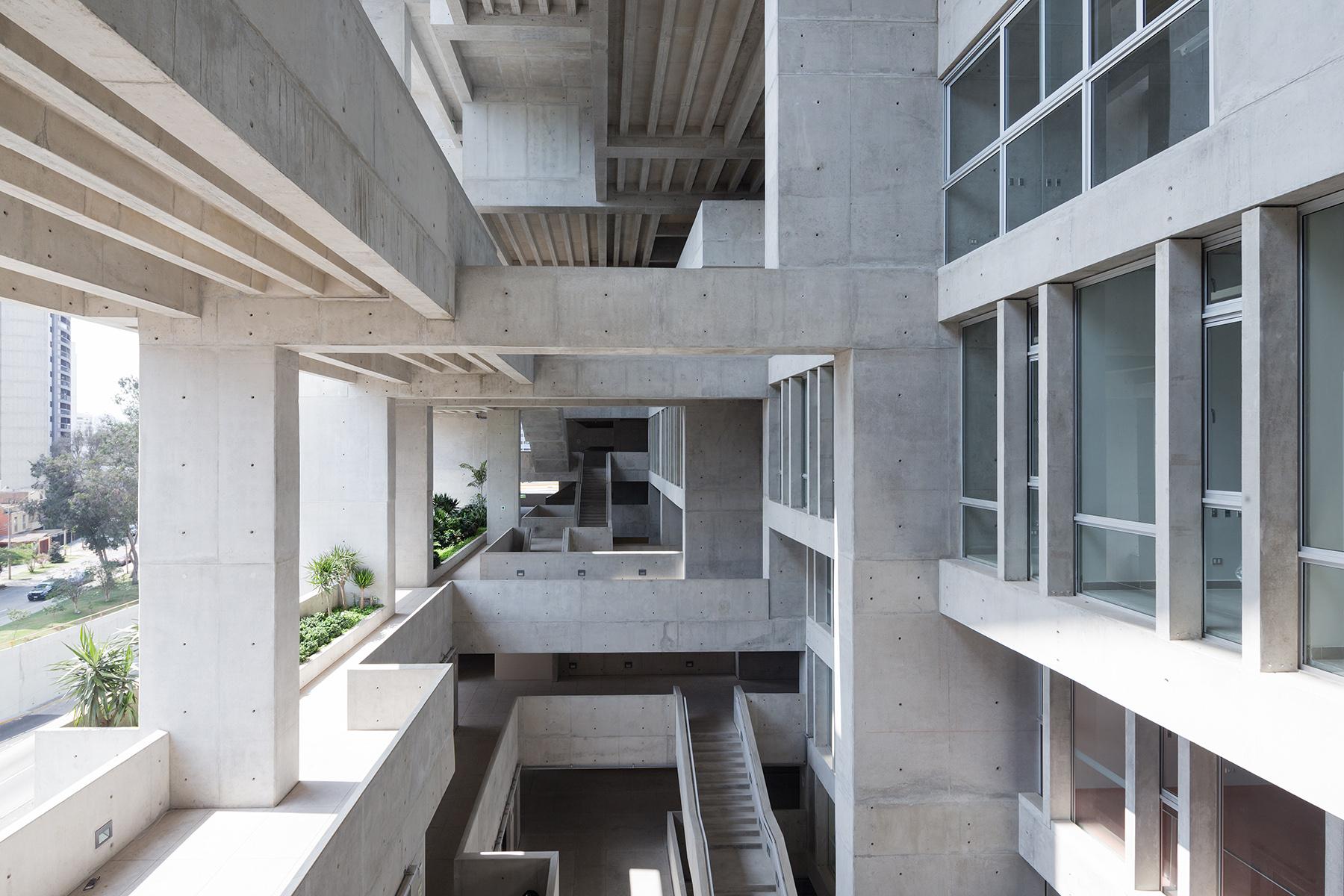 Utec lima campus architect magazine grafton architects for Grafton architects