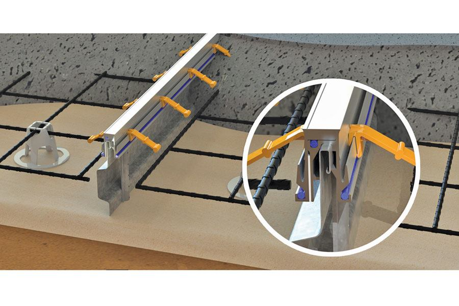 Stamped Concrete Expansion Joints : Bometals expansion joint concrete construction magazine
