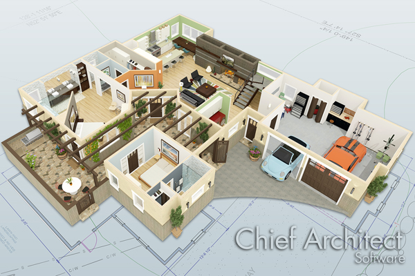 Chief architect introduces mac compatible x6 software for Home architecture mac