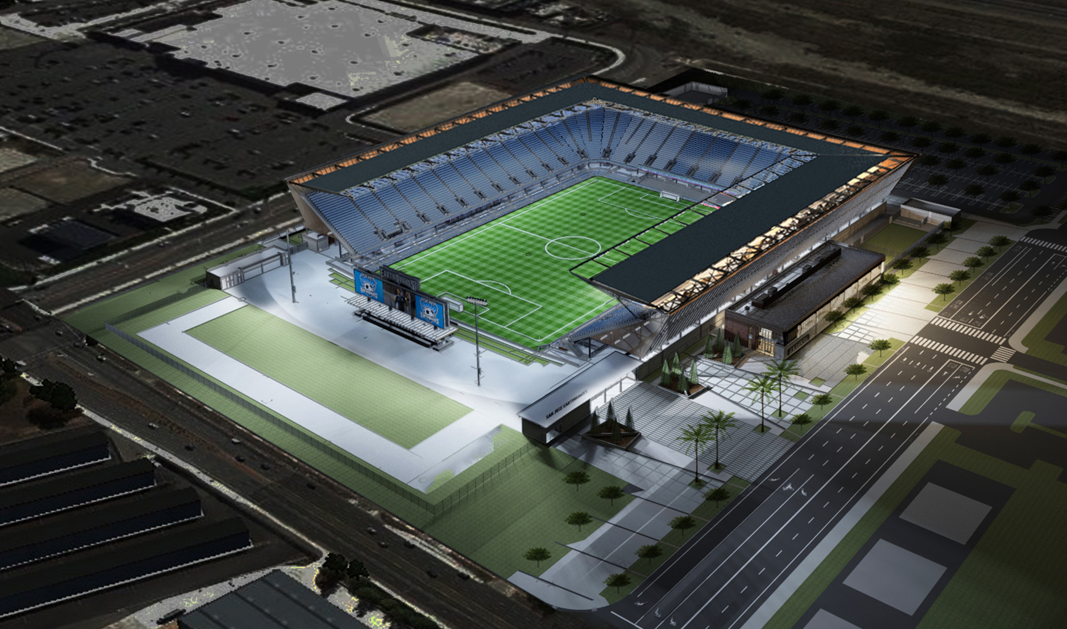 Avaya Stadium Architect Magazine Hok San Jose Ca
