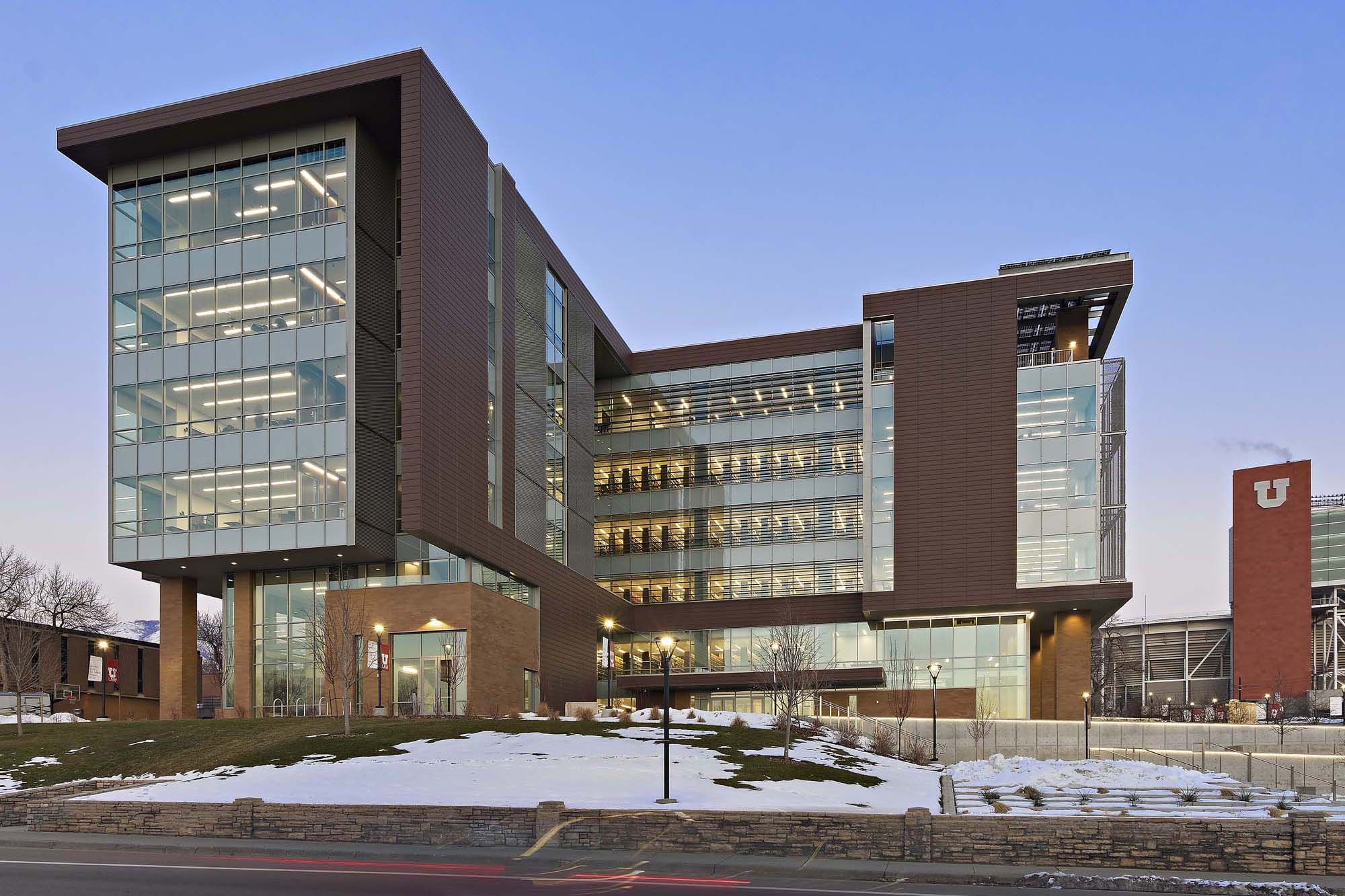 University of utah s j quinney college of law for Architecture firms salt lake city