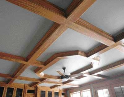 Building A Coffered Ceiling Jlc Online Panels Lumber