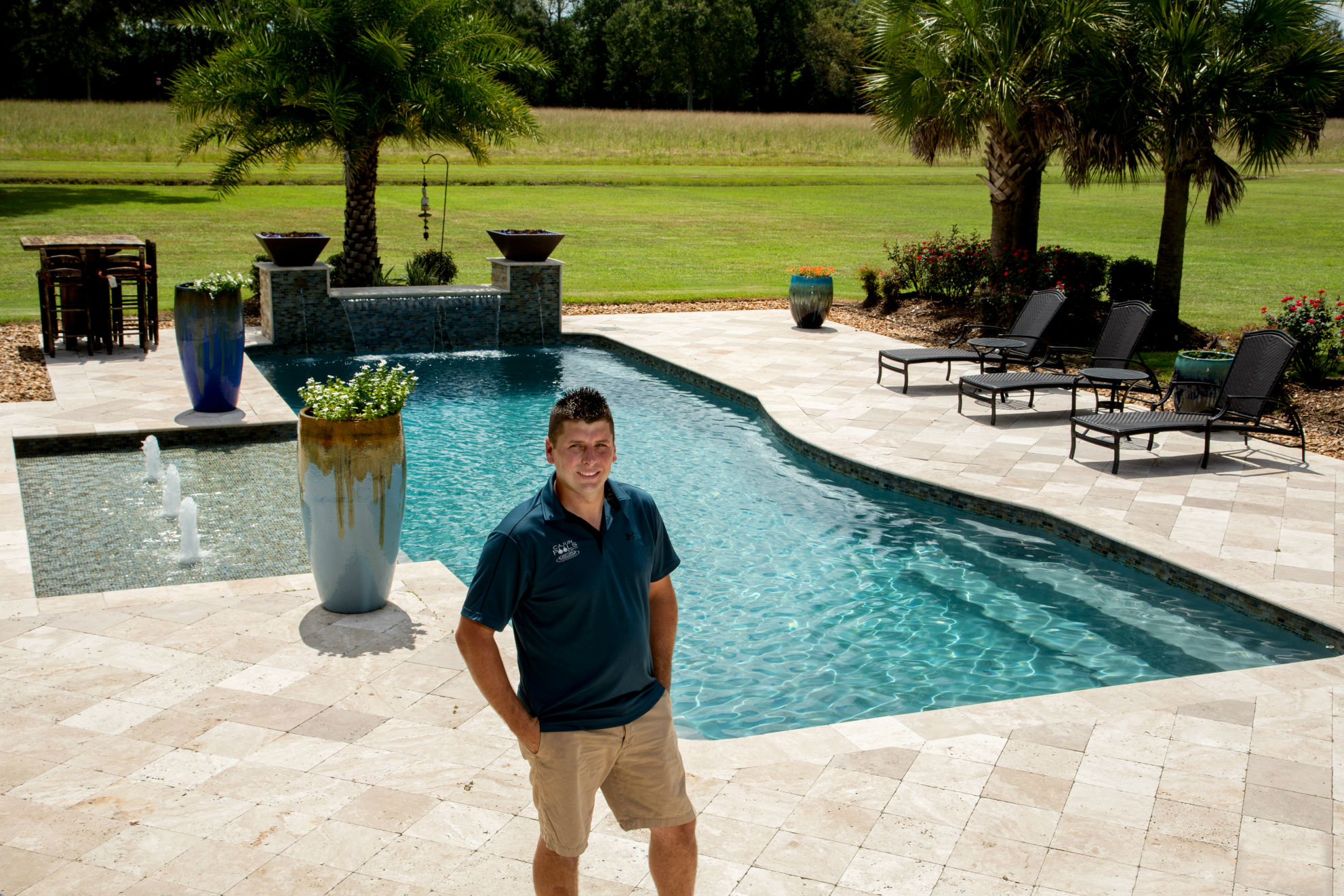 Rising stars of the pool and spa industry brandon miller for Pool and spa builders