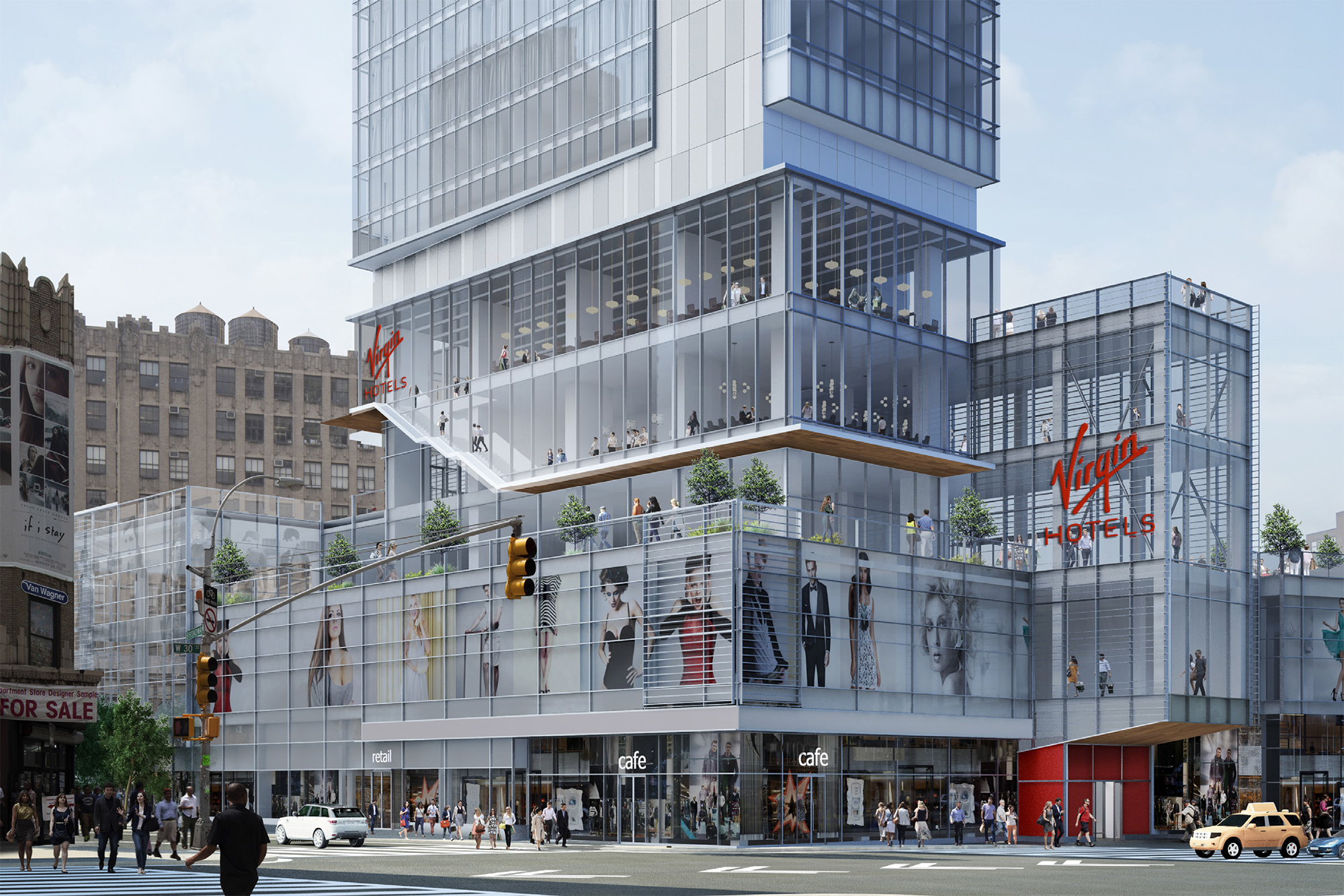 Virgin hotel new york architect magazine voa new york for Hotel new york