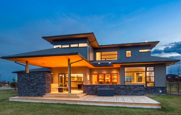Four proud prefab homes builder magazine prefab design for Custom home builder magazine
