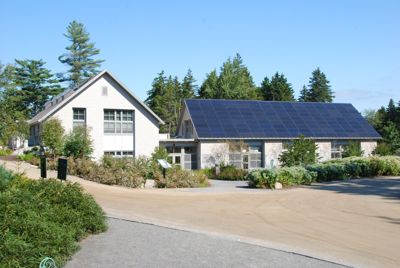 Coastal maine botanical gardens bosarge family education for Maine residential architects