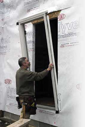 Flashing An Entry Door Jlc Online Exteriors Siding