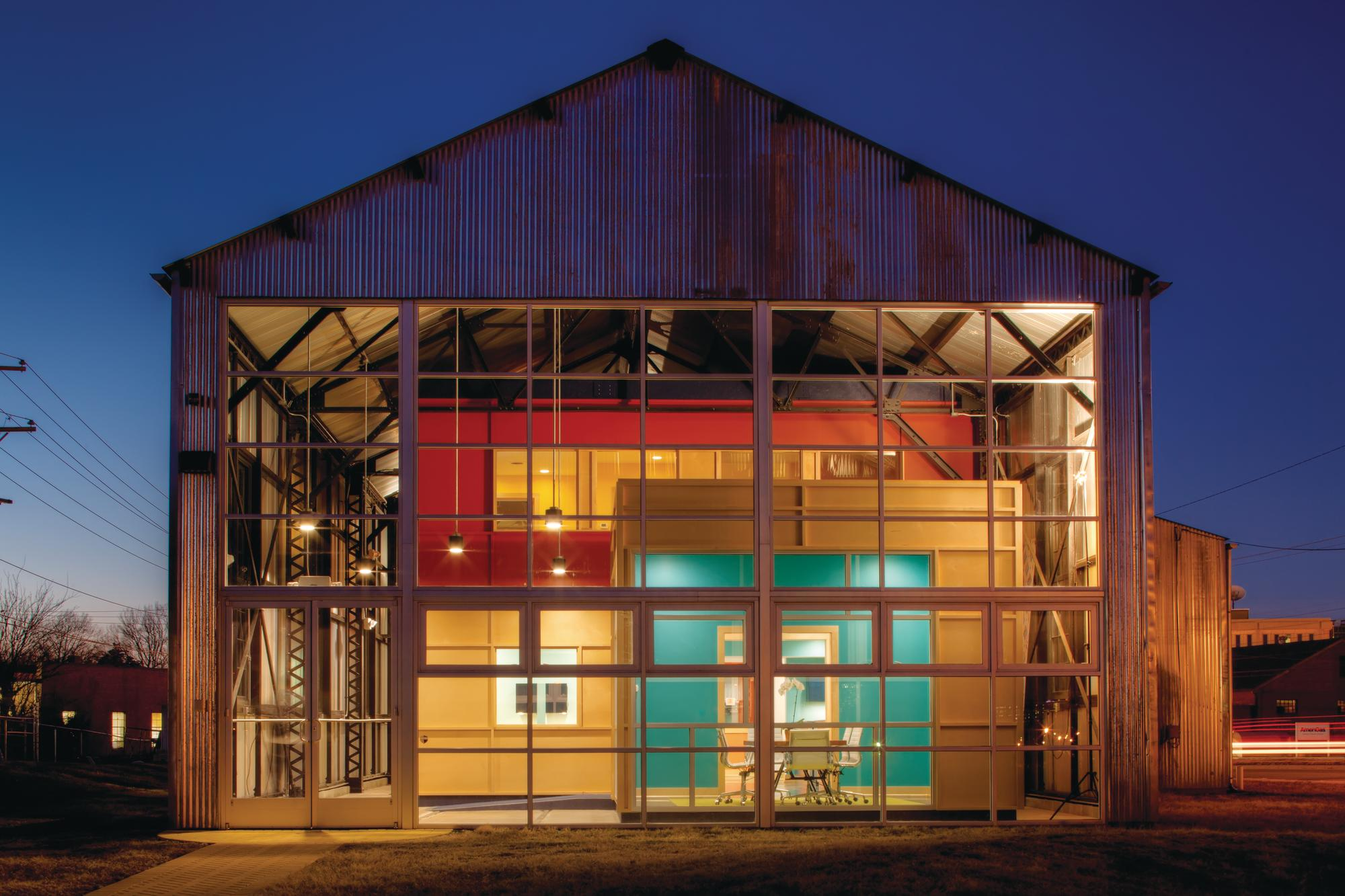 Barn Raising Where Leed Platinum And History Meet