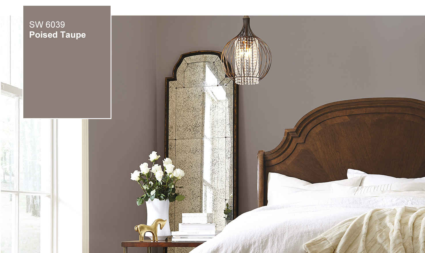 sherwin williams selects poised taupe as 2017 color of the year custom home magazine design. Black Bedroom Furniture Sets. Home Design Ideas