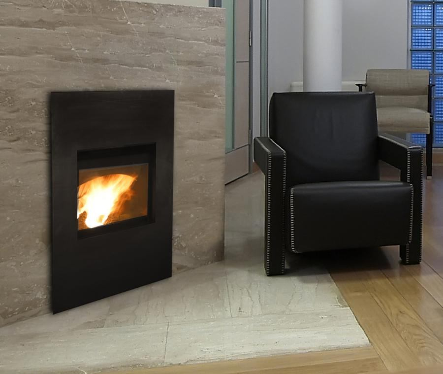 Edge 60 Pellet Fireplace By Quadra Fire Ecobuilding Pulse Magazine Green Products Interiors