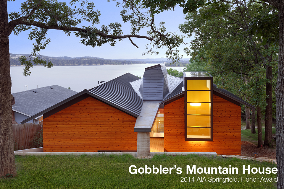 Gobbler 39 s mountain house architect magazine dake wells architecture kimberling city mo - Mountain house projects ...