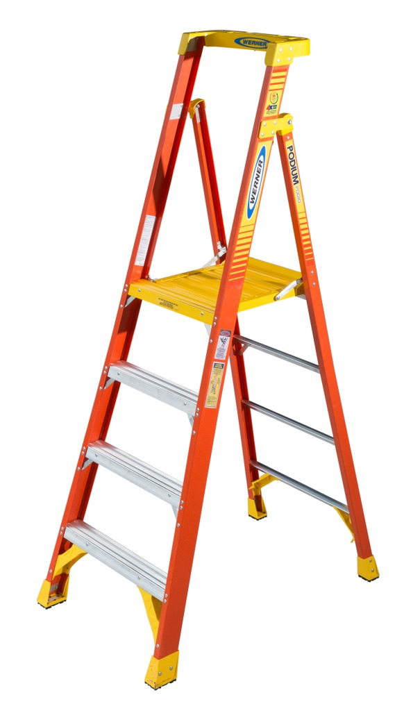 Werner Podium Series Ladders Tools Of The Trade
