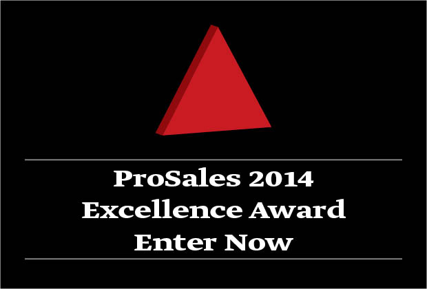 ProSales Excellence Award 2014